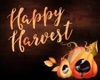 Happy Harvest Stock Photo