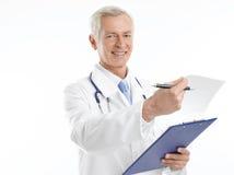 Happy healthcare practioner Stock Photos