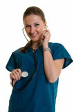 Happy healthcare worker Royalty Free Stock Photo