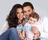 Happy healthy family Royalty Free Stock Photos