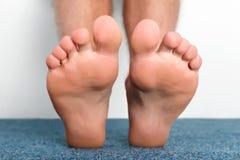 Happy healthy feet Royalty Free Stock Photography