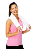 Happy healthy woman Stock Photo