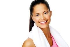 Happy healthy woman Royalty Free Stock Photo