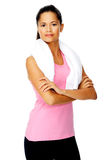 Happy healthy woman Royalty Free Stock Photography