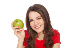 Happy healthy woman Stock Images