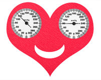 Happy heart Royalty Free Stock Images