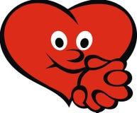 Happy heart Royalty Free Stock Photo