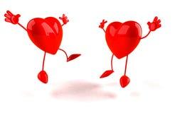 Happy hearts Royalty Free Stock Photo