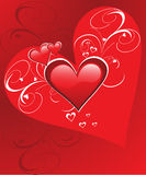 Happy hearts- Valentine's day Royalty Free Stock Photo