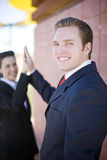 Happy High-five Stock Images