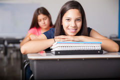 Happy high school student Royalty Free Stock Images