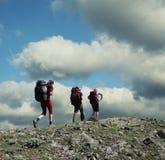 Happy hike Royalty Free Stock Photos