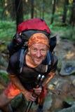 Happy Hiker Royalty Free Stock Photography