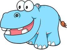 Happy hippopotamus Vector Royalty Free Stock Image