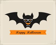 Happy Hipster Halloween Stock Photography