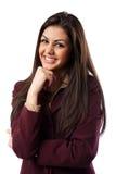 Happy hispanic businesswoman Stock Images