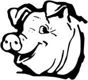 Happy Hog Stock Image