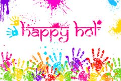 Happy Holi Royalty Free Stock Image
