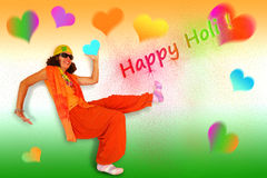 Happy Holi Stock Image