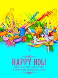 Happy Holi Background for Festival of Colors celebration greetings Royalty Free Stock Images