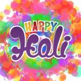 Happy Holi background. Royalty Free Stock Photo
