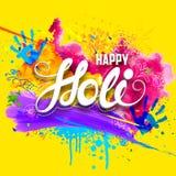 Happy Holi background Royalty Free Stock Photo