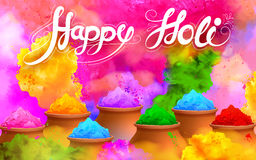 Happy Holi Background Stock Photography