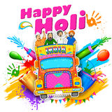 Happy Holi Background Royalty Free Stock Image