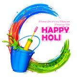 Happy Holi background Royalty Free Stock Images