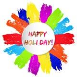 Happy Holi day card Stock Photo