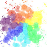 Happy Holi festival of colors greeting vector Stock Photos