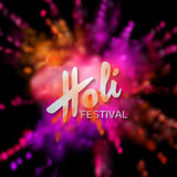 Happy Holi festival Royalty Free Stock Photography