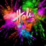 Happy Holi festival Royalty Free Stock Images