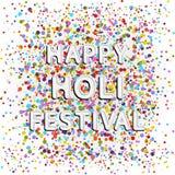 Happy holi festival Royalty Free Stock Images