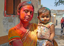 Happy Holi Royalty Free Stock Photos