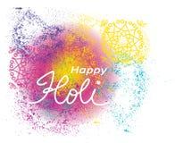 Happy Holi Royalty Free Stock Photography