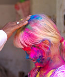 Happy Holi! Stock Image