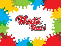 Holi spring festival of colors design. Happy Holi spring festival of colors design. use for banners Royalty Free Stock Photos
