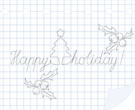 Happy holiday Royalty Free Stock Images