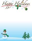 Happy Holiday background Stock Image