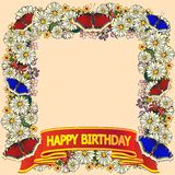 Happy Holiday Card royalty free stock photography