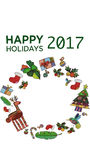 Happy Holiday Stock Images