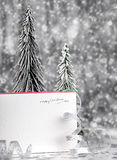 Happy holiday Christmas card Royalty Free Stock Photography