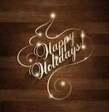 Happy Holiday Christmas And New Year Royalty Free Stock Photography