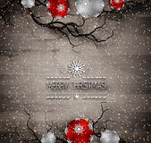 Happy Holiday Christmas And New Year Stock Image