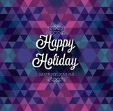 Happy Holiday Royalty Free Stock Image