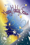 Happy Holiday Season Card Stock Images