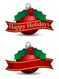 Happy Holidays stock illustration