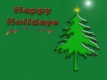 happy holidays Στοκ Φωτογραφία