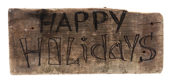 happy holidays Στοκ εικόνα με δικαίωμα ελεύθερης χρήσης